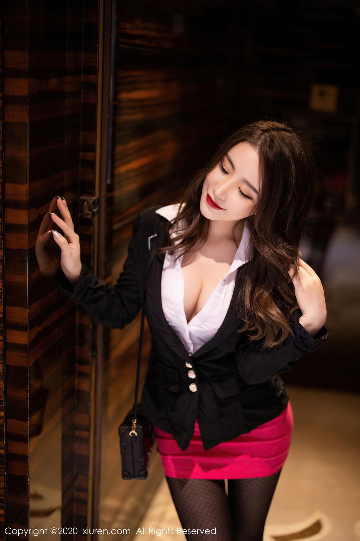 [XiuRen] Vol.2553 Fei Yue Ying 2P, Big Booty, Tall, Uniform, Xie Zhi Xin, Xiuren
