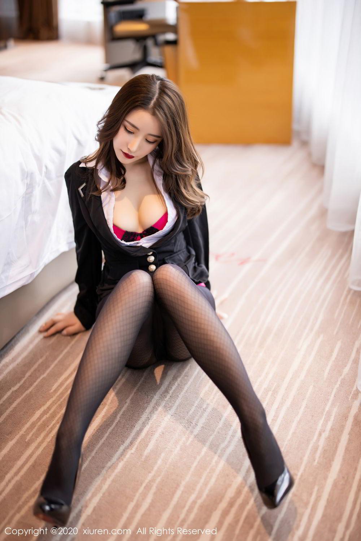[XiuRen] Vol.2553 Fei Yue Ying 37P, Big Booty, Tall, Uniform, Xie Zhi Xin, Xiuren