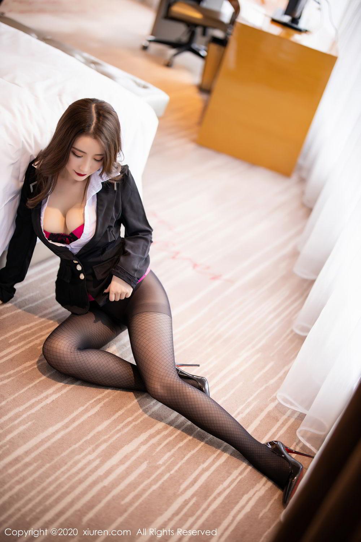 [XiuRen] Vol.2553 Fei Yue Ying 40P, Big Booty, Tall, Uniform, Xie Zhi Xin, Xiuren