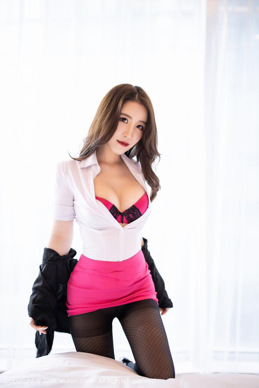 [XiuRen] Vol.2553 Fei Yue Ying 49P, Big Booty, Tall, Uniform, Xie Zhi Xin, Xiuren