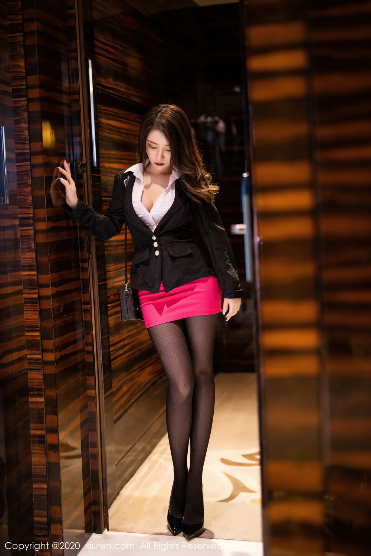 [XiuRen] Vol.2553 Fei Yue Ying 56P, Big Booty, Tall, Uniform, Xie Zhi Xin, Xiuren