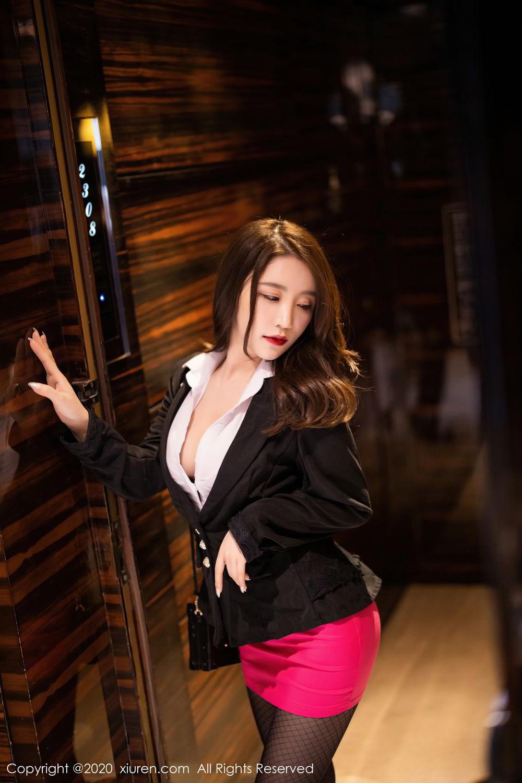 [XiuRen] Vol.2553 Fei Yue Ying 67P, Big Booty, Tall, Uniform, Xie Zhi Xin, Xiuren