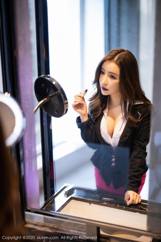 [XiuRen] Vol.2553 Fei Yue Ying 7P, Big Booty, Tall, Uniform, Xie Zhi Xin, Xiuren
