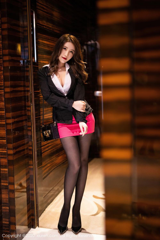 [XiuRen] Vol.2553 Fei Yue Ying 80P, Big Booty, Tall, Uniform, Xie Zhi Xin, Xiuren