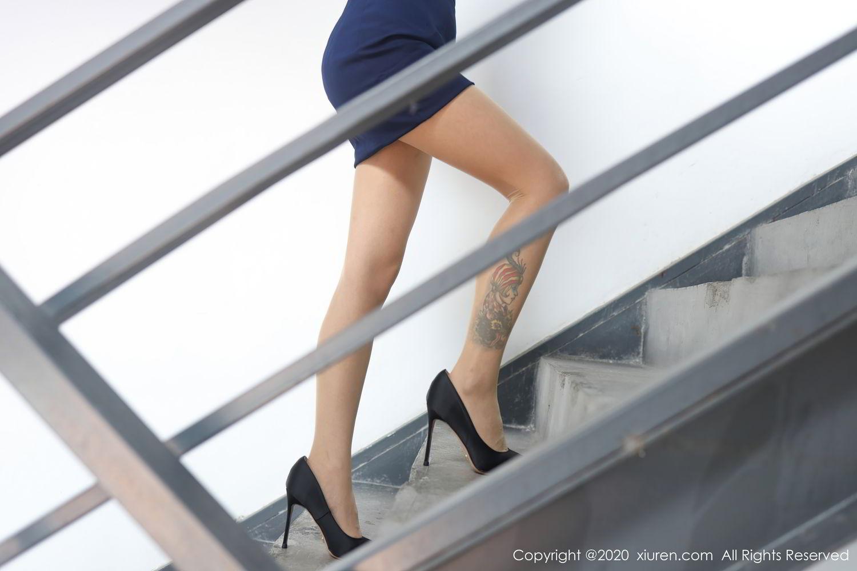 [XiuRen] Vol.2555 She Bei La 1P, She Bei La, Underwear, Uniform, Xiuren