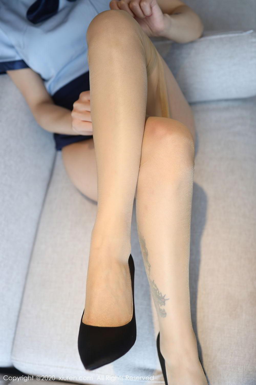 [XiuRen] Vol.2555 She Bei La 32P, She Bei La, Underwear, Uniform, Xiuren