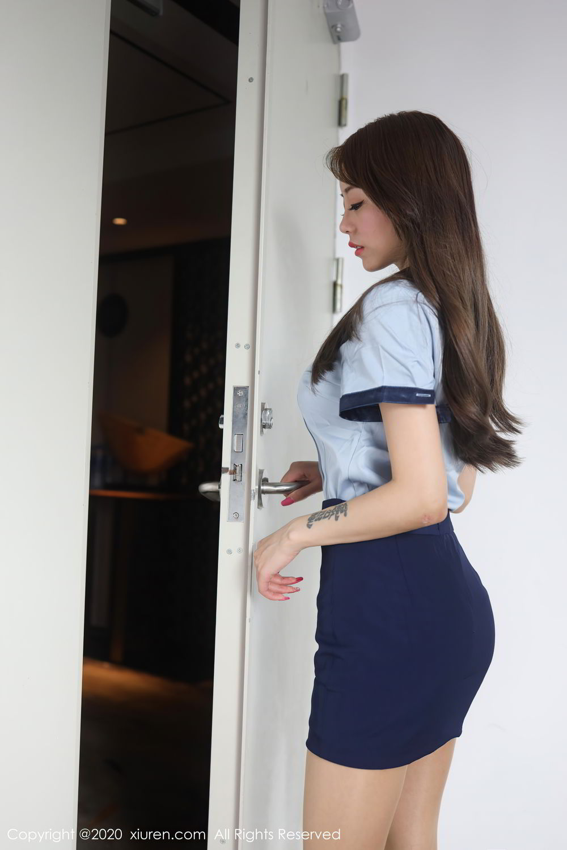 [XiuRen] Vol.2555 She Bei La 37P, She Bei La, Underwear, Uniform, Xiuren