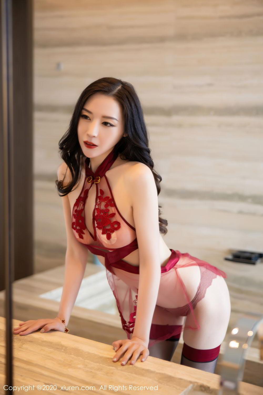 [XiuRen] Vol.2562 Meng Xin Yue 10P, Black Silk, Meng Xin Yue, Tall, Underwear, Xiuren