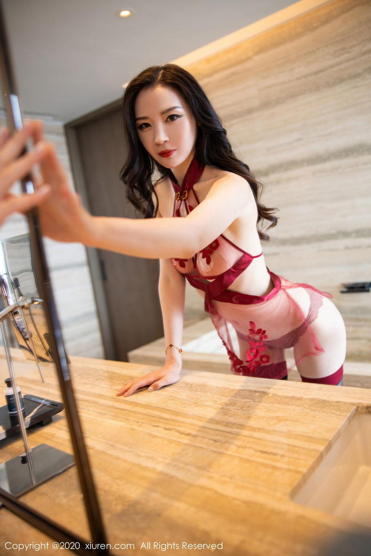 [XiuRen] Vol.2562 Meng Xin Yue 11P, Black Silk, Meng Xin Yue, Tall, Underwear, Xiuren