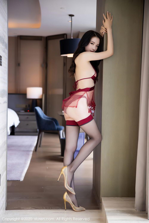 [XiuRen] Vol.2562 Meng Xin Yue 20P, Black Silk, Meng Xin Yue, Tall, Underwear, Xiuren