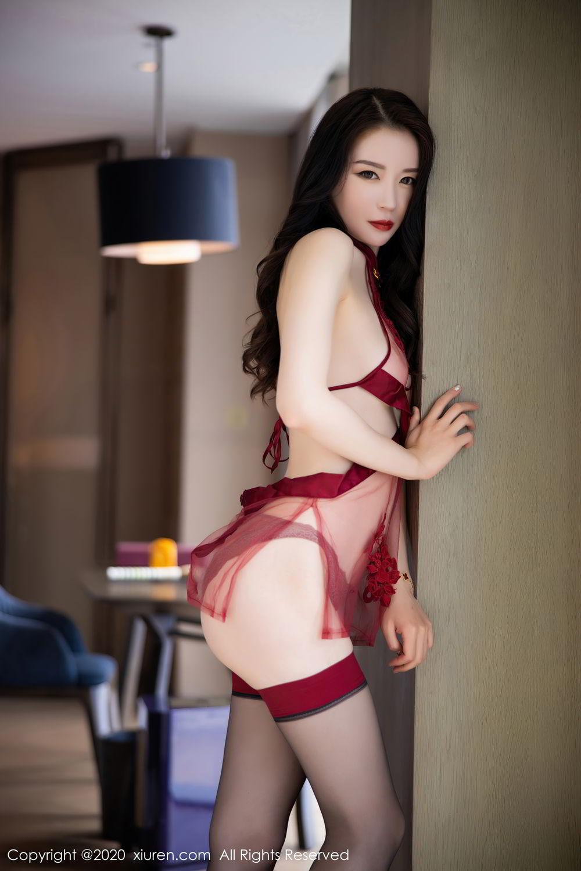 [XiuRen] Vol.2562 Meng Xin Yue 22P, Black Silk, Meng Xin Yue, Tall, Underwear, Xiuren