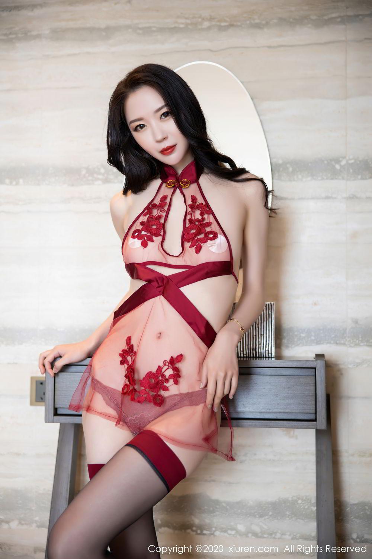 [XiuRen] Vol.2562 Meng Xin Yue 23P, Black Silk, Meng Xin Yue, Tall, Underwear, Xiuren