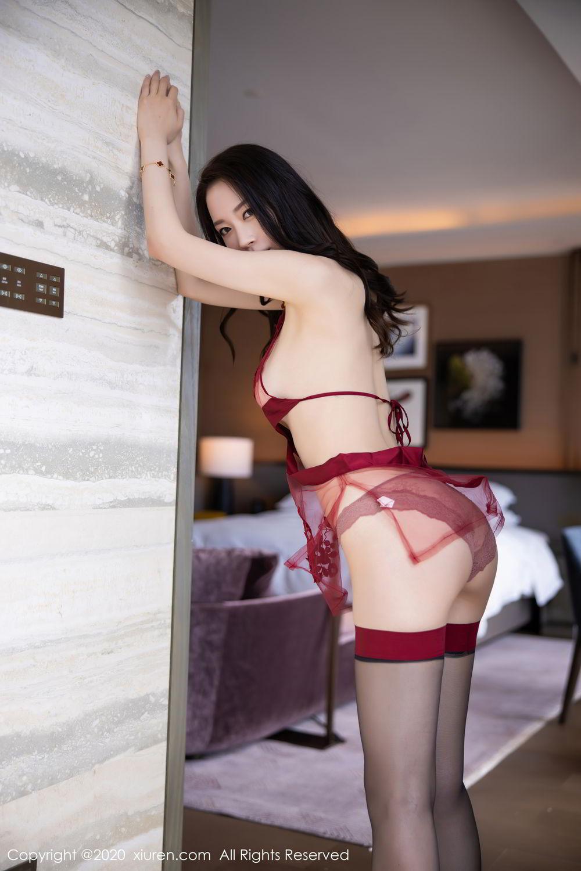 [XiuRen] Vol.2562 Meng Xin Yue 25P, Black Silk, Meng Xin Yue, Tall, Underwear, Xiuren