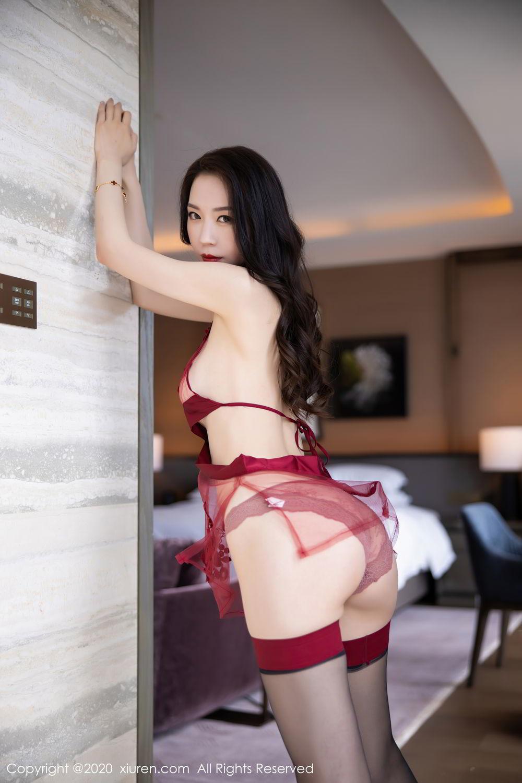 [XiuRen] Vol.2562 Meng Xin Yue 26P, Black Silk, Meng Xin Yue, Tall, Underwear, Xiuren