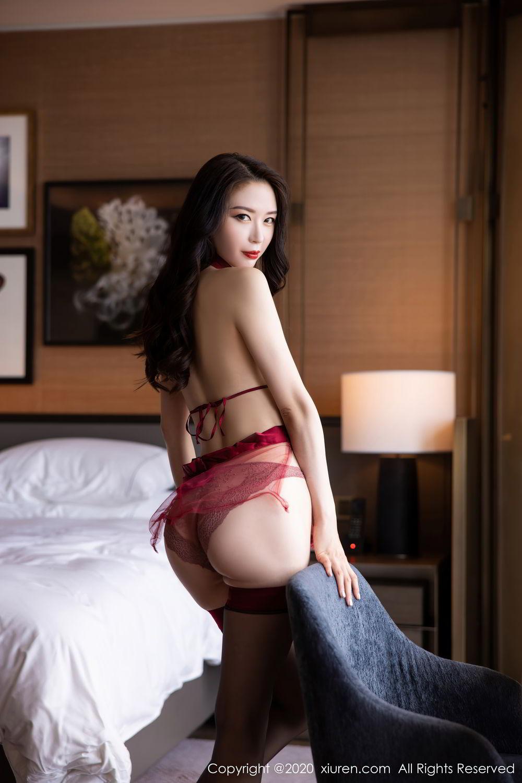 [XiuRen] Vol.2562 Meng Xin Yue 28P, Black Silk, Meng Xin Yue, Tall, Underwear, Xiuren