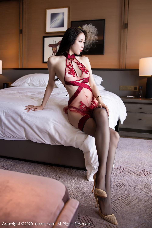 [XiuRen] Vol.2562 Meng Xin Yue 29P, Black Silk, Meng Xin Yue, Tall, Underwear, Xiuren