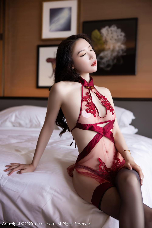 [XiuRen] Vol.2562 Meng Xin Yue 30P, Black Silk, Meng Xin Yue, Tall, Underwear, Xiuren