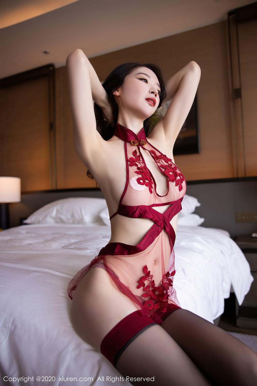 [XiuRen] Vol.2562 Meng Xin Yue 33P, Black Silk, Meng Xin Yue, Tall, Underwear, Xiuren