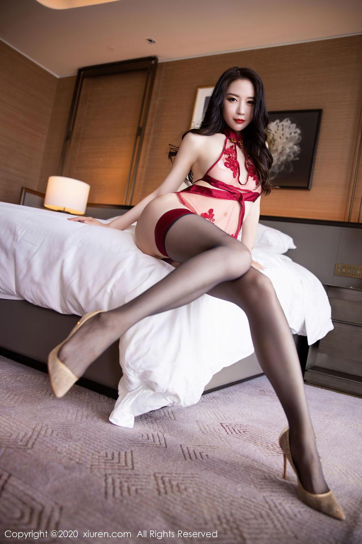 [XiuRen] Vol.2562 Meng Xin Yue 36P, Black Silk, Meng Xin Yue, Tall, Underwear, Xiuren