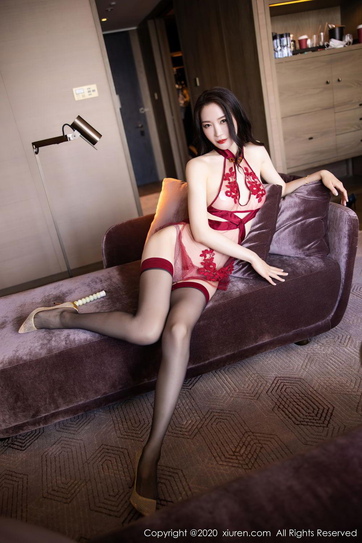 [XiuRen] Vol.2562 Meng Xin Yue 46P, Black Silk, Meng Xin Yue, Tall, Underwear, Xiuren