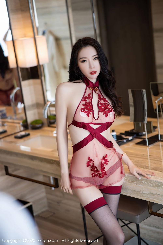 [XiuRen] Vol.2562 Meng Xin Yue 4P, Black Silk, Meng Xin Yue, Tall, Underwear, Xiuren