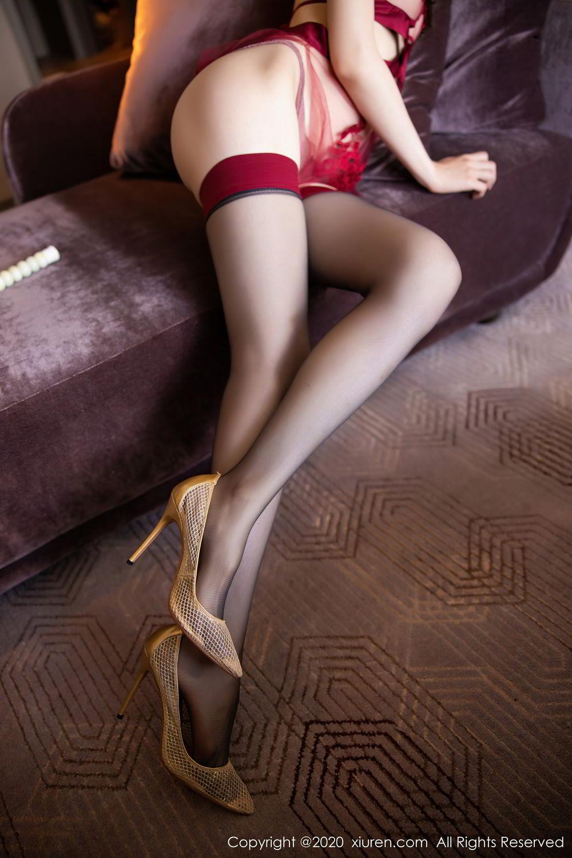 [XiuRen] Vol.2562 Meng Xin Yue 50P, Black Silk, Meng Xin Yue, Tall, Underwear, Xiuren