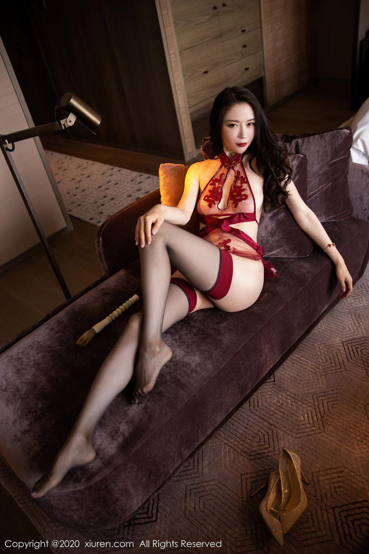 [XiuRen] Vol.2562 Meng Xin Yue 55P, Black Silk, Meng Xin Yue, Tall, Underwear, Xiuren