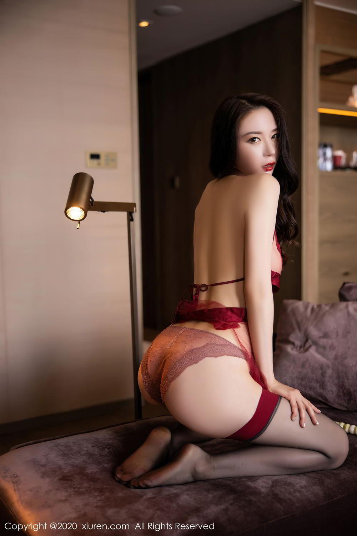 [XiuRen] Vol.2562 Meng Xin Yue 59P, Black Silk, Meng Xin Yue, Tall, Underwear, Xiuren