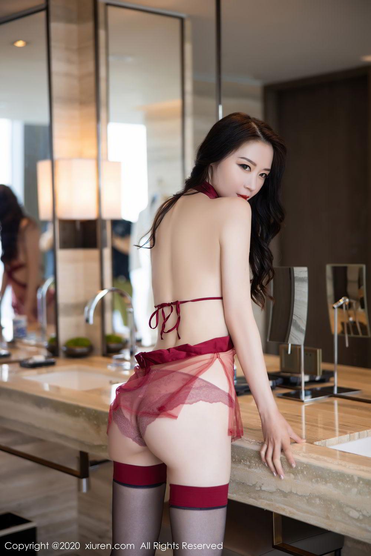 [XiuRen] Vol.2562 Meng Xin Yue 5P, Black Silk, Meng Xin Yue, Tall, Underwear, Xiuren