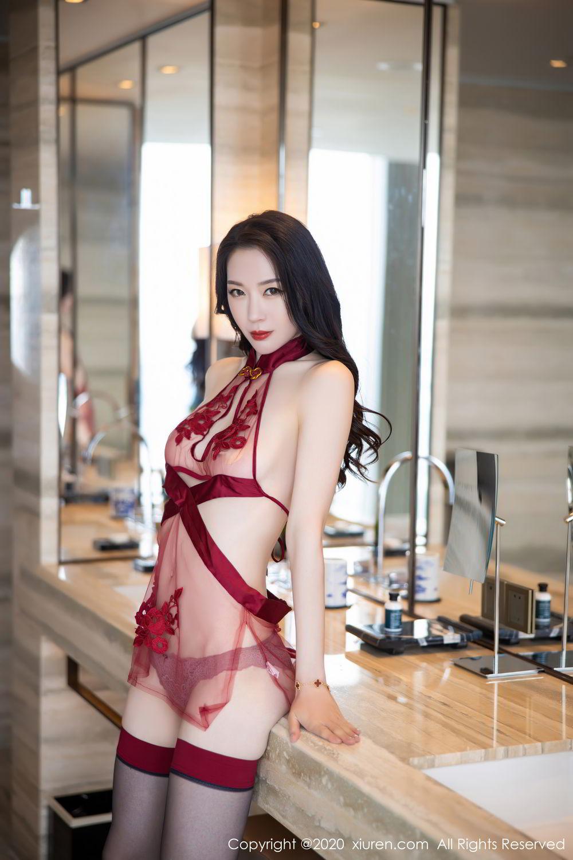 [XiuRen] Vol.2562 Meng Xin Yue 67P, Black Silk, Meng Xin Yue, Tall, Underwear, Xiuren