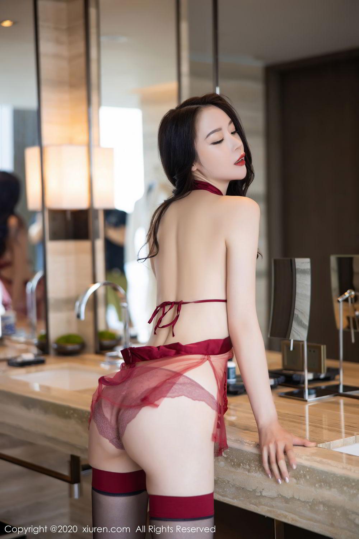[XiuRen] Vol.2562 Meng Xin Yue 6P, Black Silk, Meng Xin Yue, Tall, Underwear, Xiuren