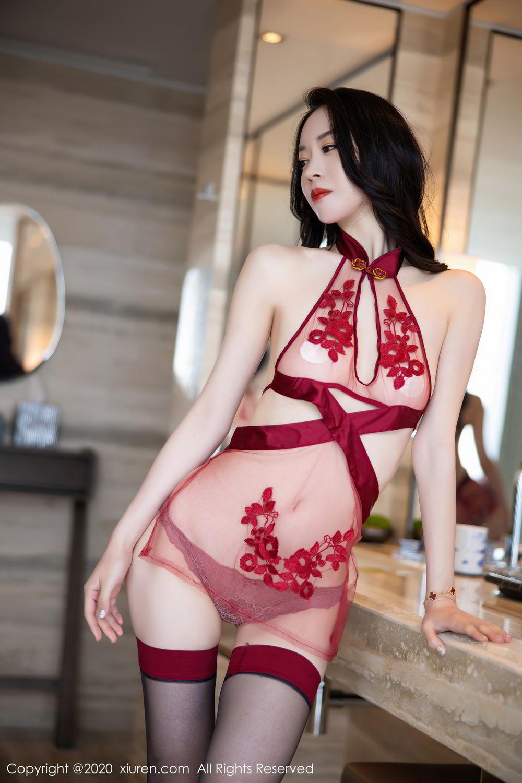 [XiuRen] Vol.2562 Meng Xin Yue 78P, Black Silk, Meng Xin Yue, Tall, Underwear, Xiuren