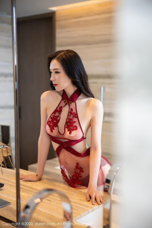 [XiuRen] Vol.2562 Meng Xin Yue 8P, Black Silk, Meng Xin Yue, Tall, Underwear, Xiuren