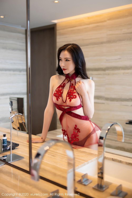 [XiuRen] Vol.2562 Meng Xin Yue 9P, Black Silk, Meng Xin Yue, Tall, Underwear, Xiuren