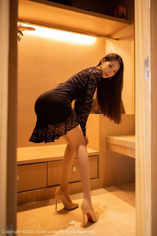 [XiuRen] Vol.2576 Zhou Mu Xi 10P, Slim, Underwear, Xiuren, Zhou Mu Xi