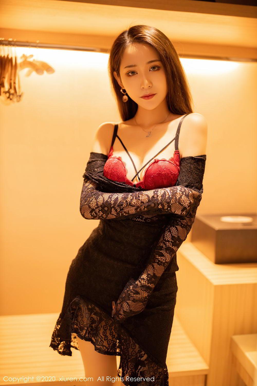 [XiuRen] Vol.2576 Zhou Mu Xi 11P, Slim, Underwear, Xiuren, Zhou Mu Xi