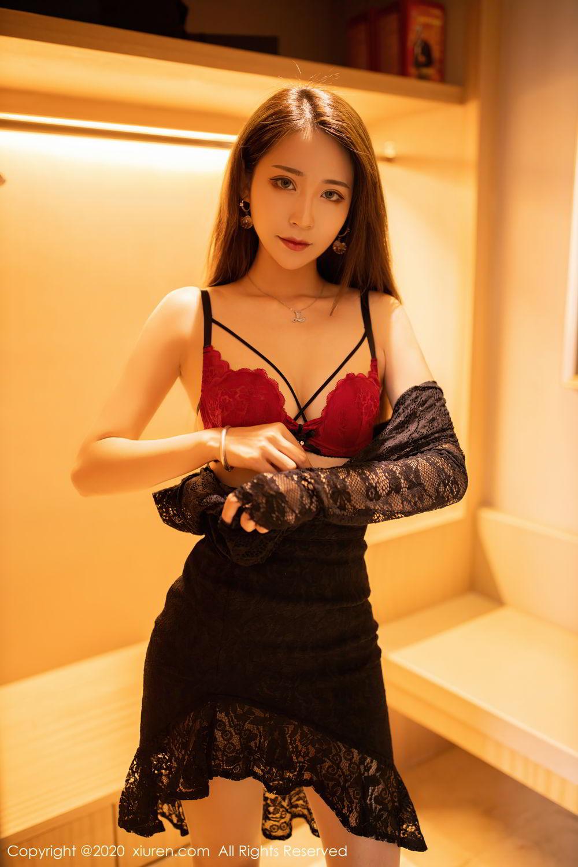 [XiuRen] Vol.2576 Zhou Mu Xi 14P, Slim, Underwear, Xiuren, Zhou Mu Xi