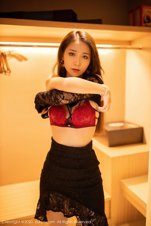 [XiuRen] Vol.2576 Zhou Mu Xi 15P, Slim, Underwear, Xiuren, Zhou Mu Xi