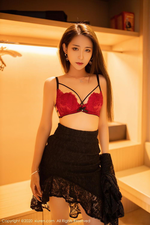 [XiuRen] Vol.2576 Zhou Mu Xi 17P, Slim, Underwear, Xiuren, Zhou Mu Xi