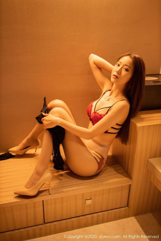 [XiuRen] Vol.2576 Zhou Mu Xi 21P, Slim, Underwear, Xiuren, Zhou Mu Xi