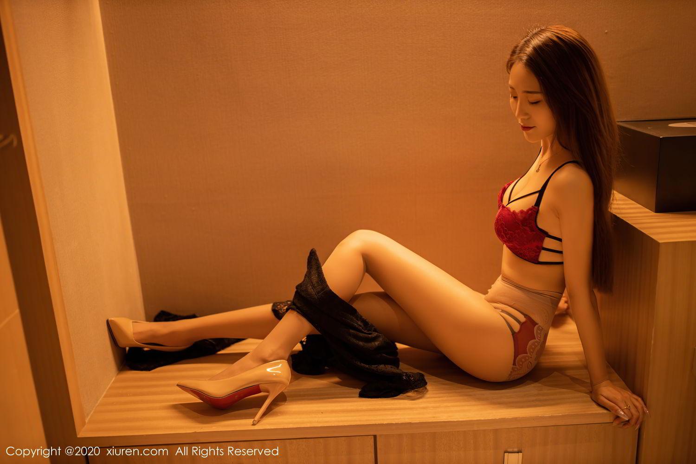 [XiuRen] Vol.2576 Zhou Mu Xi 25P, Slim, Underwear, Xiuren, Zhou Mu Xi