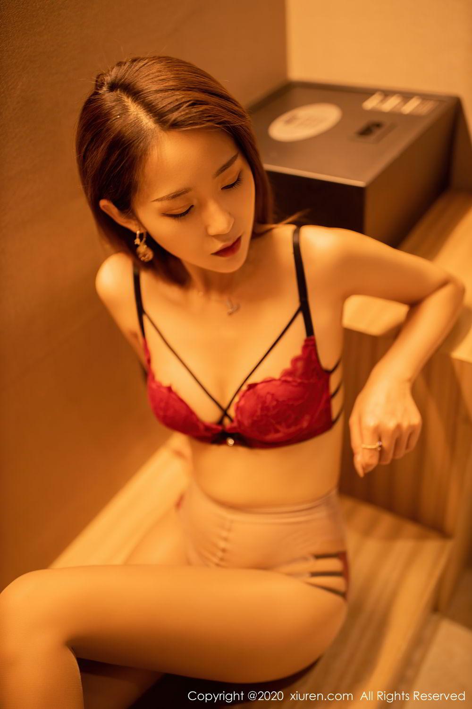 [XiuRen] Vol.2576 Zhou Mu Xi 26P, Slim, Underwear, Xiuren, Zhou Mu Xi