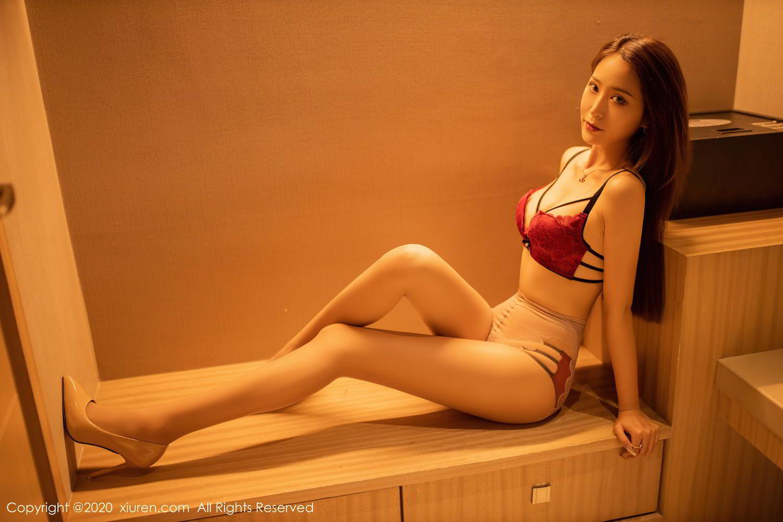[XiuRen] Vol.2576 Zhou Mu Xi 27P, Slim, Underwear, Xiuren, Zhou Mu Xi