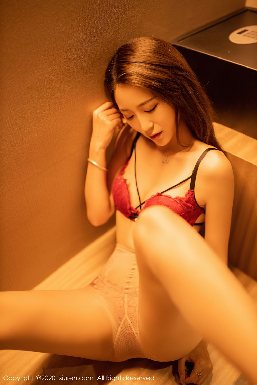 [XiuRen] Vol.2576 Zhou Mu Xi 28P, Slim, Underwear, Xiuren, Zhou Mu Xi