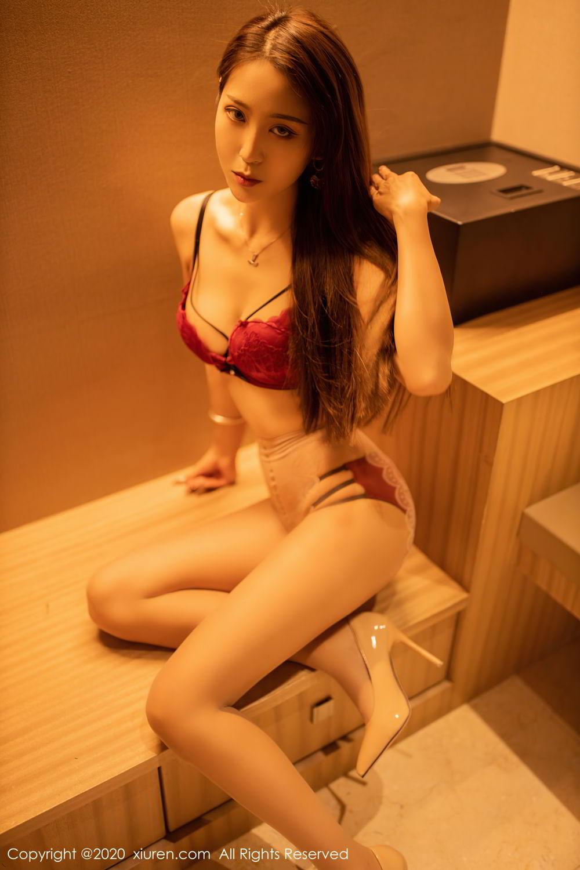 [XiuRen] Vol.2576 Zhou Mu Xi 32P, Slim, Underwear, Xiuren, Zhou Mu Xi