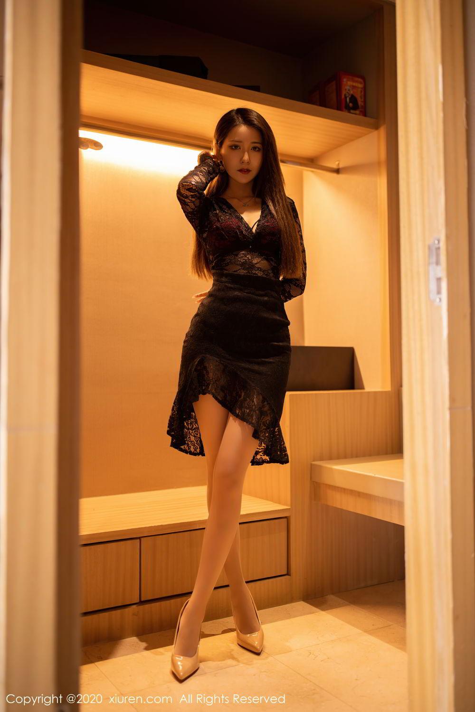 [XiuRen] Vol.2576 Zhou Mu Xi 34P, Slim, Underwear, Xiuren, Zhou Mu Xi