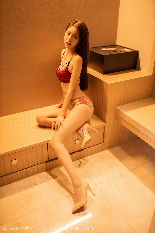 [XiuRen] Vol.2576 Zhou Mu Xi 36P, Slim, Underwear, Xiuren, Zhou Mu Xi