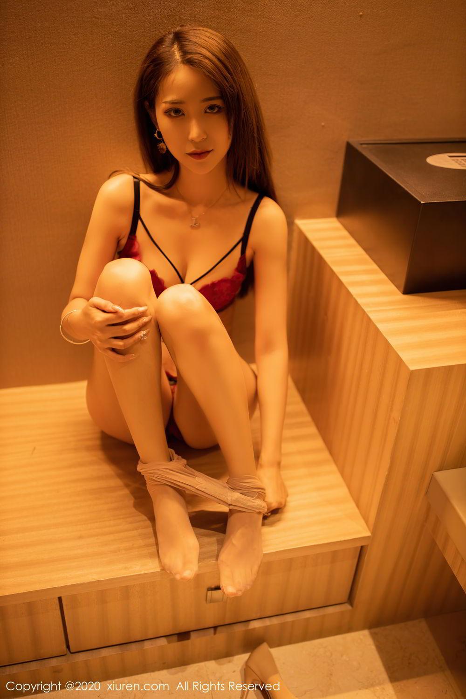 [XiuRen] Vol.2576 Zhou Mu Xi 38P, Slim, Underwear, Xiuren, Zhou Mu Xi