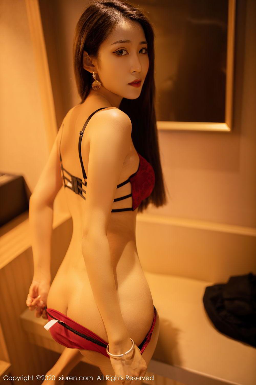 [XiuRen] Vol.2576 Zhou Mu Xi 40P, Slim, Underwear, Xiuren, Zhou Mu Xi