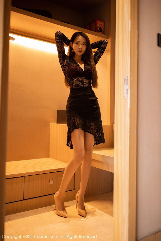 [XiuRen] Vol.2576 Zhou Mu Xi 41P, Slim, Underwear, Xiuren, Zhou Mu Xi